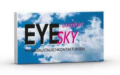 EyeSky Comfort Monats-Kontaktlinsen - Doppelpackung