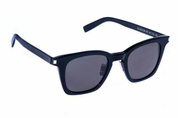 Saint Laurent SL 138 SLIM - 001 - schwarz