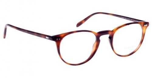 Oliver Peoples OV 5004 1007 - RILEY-R DARK MAHOGANY
