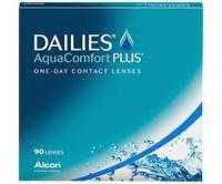 Dailies Aqua Comfort Plus 90er Pack Tages-Kontaktlinsen - Doppelpackung