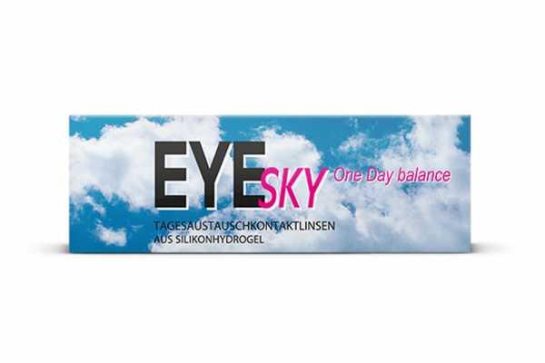 EyeSky One Day Balance Tages-Kontaktlinsen - Doppelpackung