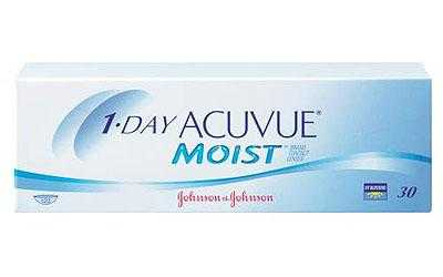 1-Day Acuvue Moist Kontaktlinsen - Doppelpackung