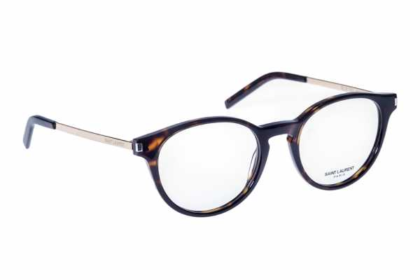 Saint Laurent SL 25 - 003 - havanna dunkel