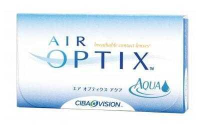 Air Optix Aqua Monats-Kontaktlinsen - Doppelpackung