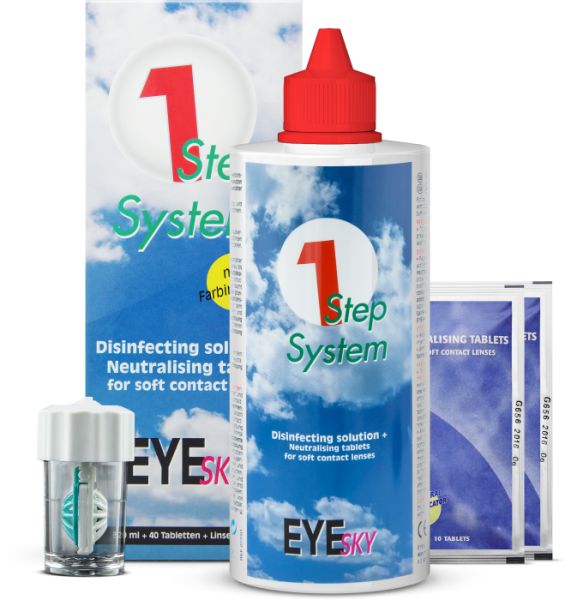EyeSky 1 Step System (320ml/40Tabs)
