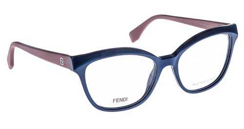 FENDI Fendi Damen Brille » FF 0044«, braun, 05L - braun