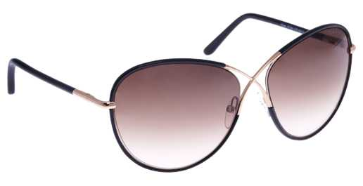 Tom Ford FT 0344/S Rosie - 01B - schwarz