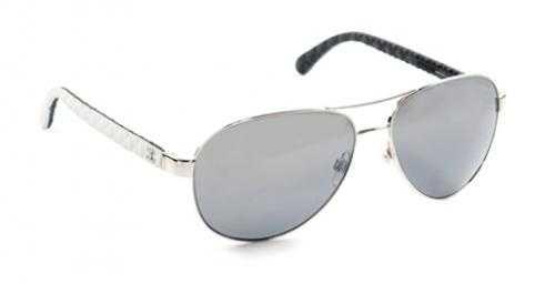 CHANEL CH 4204Q 124/Z6 - silber weiß