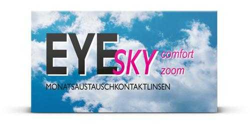 EyeSky Comfort Zoom Monats-Kontaktlinsen - Einzelpackung
