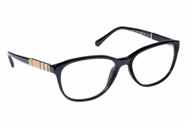 Burberry BE 2172 3001 - Schwarz